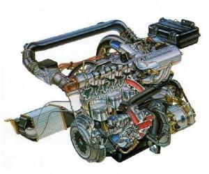 Uno turbo ie motore Sverniciatura trattamento scocca auto epoca Torino Italia Europa