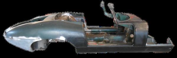 restauro jaguar E-Type 1961
