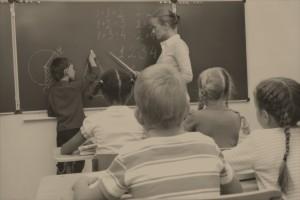 Lezione di Matematica a scuola