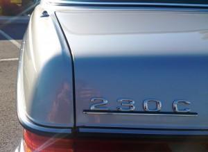 230 modello Mercedes-Benz 230C w123-epoca-retro