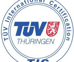Simet riceve il  Certificato UNI EN ISO 9001:2015 dall'ente TUV Thüringhen.